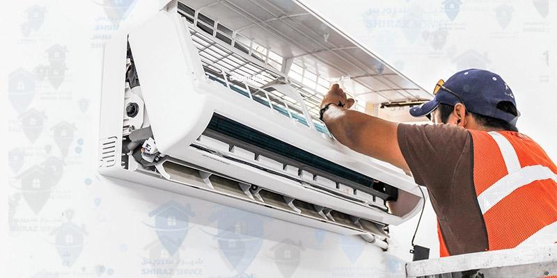 سرویس اسپیلت موجب افزایش بازدهی، کیفیت سرمایش و طول عمر دستگاه و کاهش هزینه برق مصرفی می شود